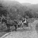 Henry and Bettie Keener family in West Virginia missions, early 20th century (VMC Archives)