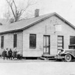 Gay Street Mission Hall, 1930s, first Mennonite congregation in Harrisonburg, Va. (VMC Archives)