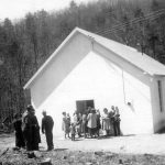 Buckhorn Church Mathias, W.Va., missions outpost established 1949, later became Mathias Mennonite Church (VMC Archives)
