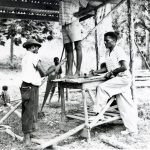 Building at Retreat, Jamaica, 1959 (VMC Archives)