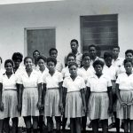 Calvary, Jamaica, with Showalter and Knicely (VMC Archives)