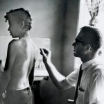 Dr. Richard Keeler, Hansen's Disease missions work in Trinidad (VMC Archives)