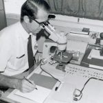Richard Keeler in medical work, Trinidad (VMC Archives)