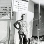 Dr. Richard Keeler, Hansen's Disease work in Trinidad (VMC Archives)