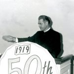 Myron Augsburger spoke at 50th Anniversary of VMBM, 1969 (VMM Archives)
