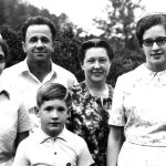 Wellington and Evangeline Moyer family, North Carolina missions (VMC Archives)
