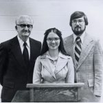 Harold Eshleman, Earlene and Loren Horst, 1978 (VMC Archives)