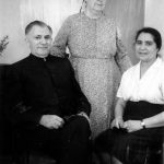 Lewis and Cora Martin (left) with Franca Ceraulo, from Palermo Sicily (VMC Archives)
