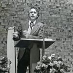Gerald Martin missions preacher, about 1981 (VMC Archives)