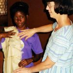 Gloria Lehman in Jamaica missions (VMC Archives)