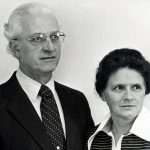 J. Clair and Lois Hollinger, Leadership Training in Trinidad, 1982-83 (VMC Archives)
