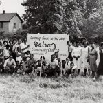 Groundbreaking at Calvary Community Church, Hampton, Va. (VMC Archives)