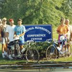 VMM Bicycles Harrisonburg 1991 (VMM Archives)
