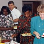 PIM team commissioning for Jamaica, Ridgeway Mennonite Church, Harrisonburg, Va., 1992 (VMC Archives)