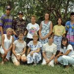Partners in Mission (PIM) team to North Carolina, 1992 (VMC Archives)