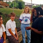Missions team in Jamaica, 1993 (VMC Archives)