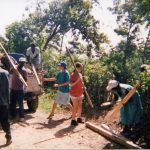 Haiti work team, 1995, Tapion Mennonite Church (VMC Archives)