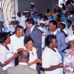 Jamaica Mennonite Conference, 1997 (Elwood Yoder photograph)