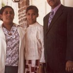 Pastor Caonabo and Mireya, with Jacalyn Reyes, Washington, D.C, supported by VMBM (VMC Archives)