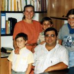 Martha and Francesco Picone family, Italian Mennonite church leaders (VMC Archives)