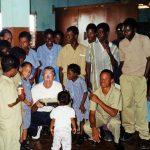 Galen Lehman, Jamaica missions work, 2000 (VMC Archives)