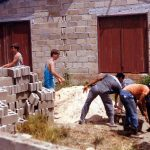 Zion Hill Youth help at Maranatha School, Jamaica (VM Archives)