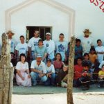 Mexico missions trip to Miguel Hidalgo, with Weavers Church group, 2001 (Yvonne Martin collection)