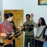 Sunday worship at Lezhe, Albania, 2002 (VMC Archives)